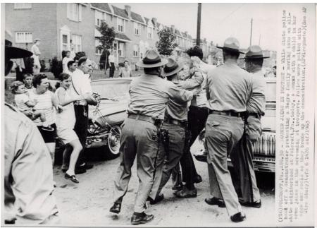"""Folcroft """"Baker Incident in 1963 CREDIT: LIBRARY OF CONGRESS"""
